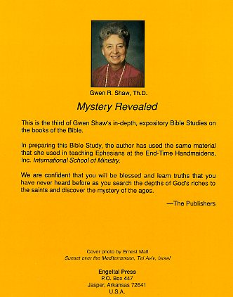 Mystery Revealed -791