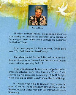 The Power of Praise -782
