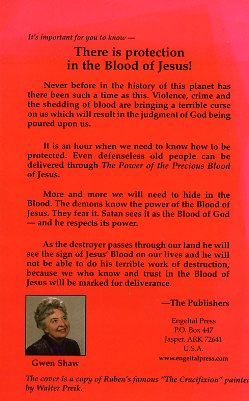 The Power of the Precious Blood -783