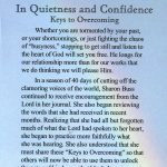 In Quietness and Confidence - Keys to Overcoming-1200