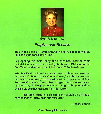 Forgive and Receive (PDF)