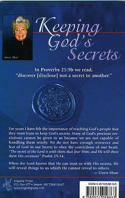 Keeping God's Secret (PDF)-1263