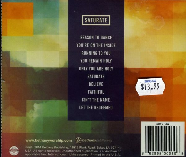 Bethany Worship - Saturate-1365