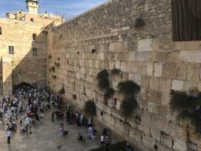 The Kotel–The Western Retaining Wall of the Temple Mount