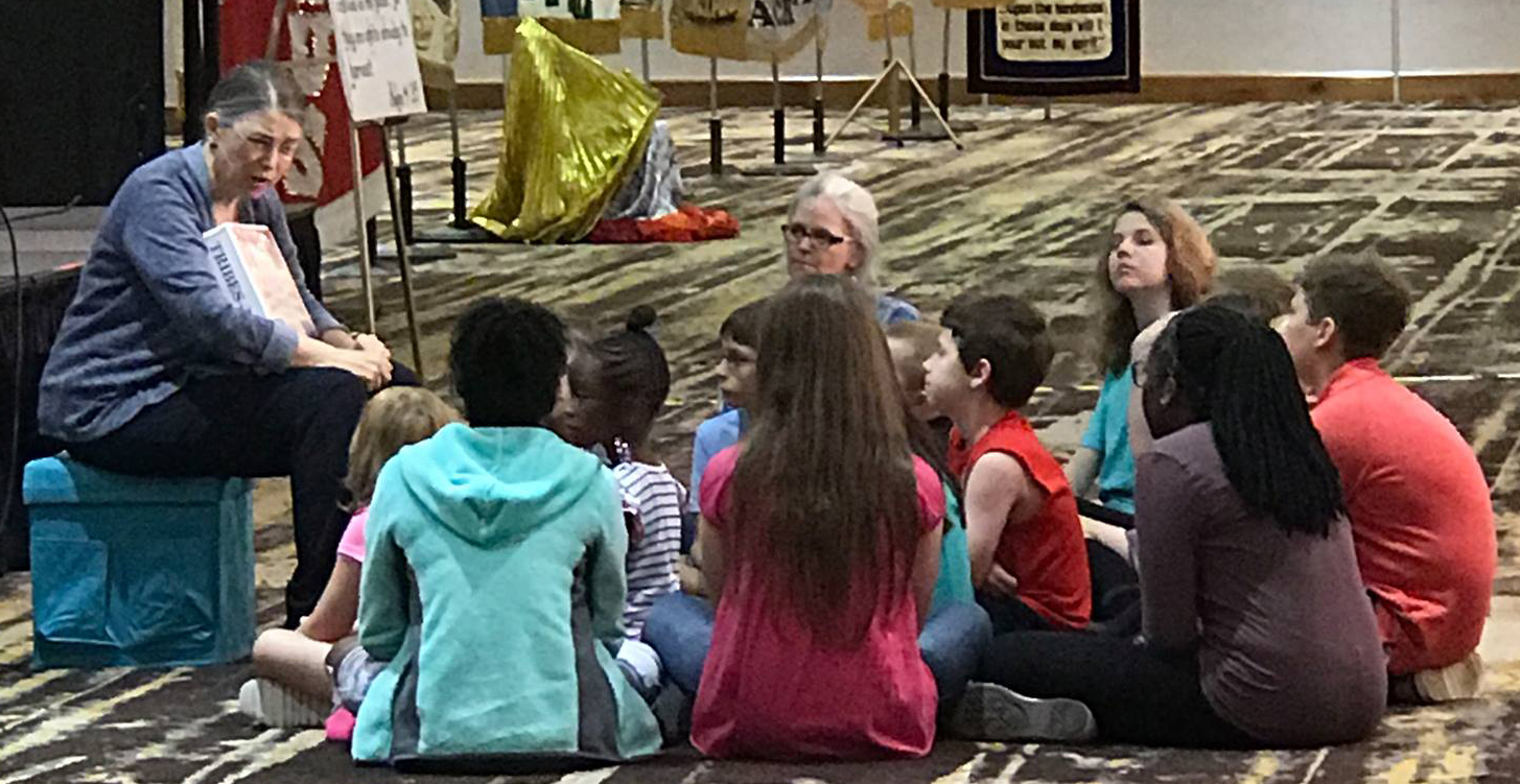 Sharon Buss Teaching the Children about the Tribes of Israel